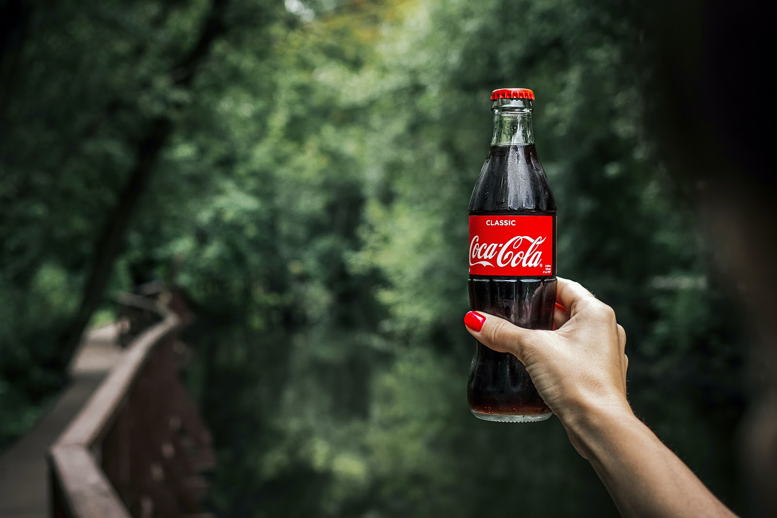 Coca cola bottle - Image credit: pexels.com