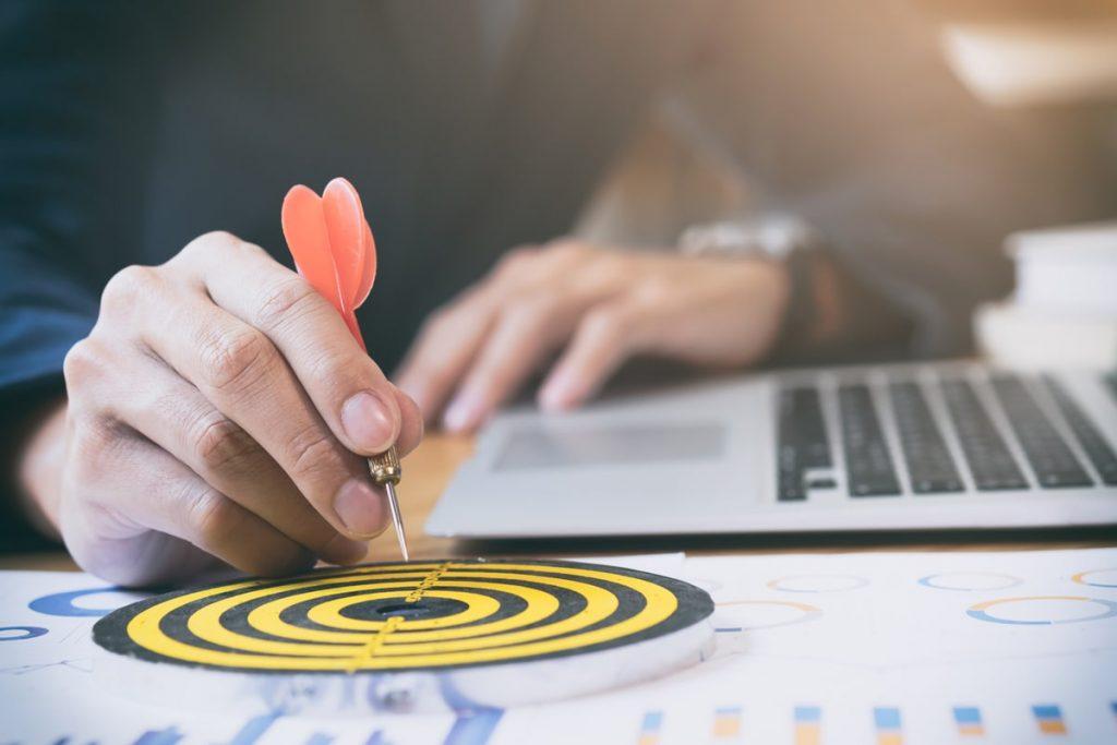 objectifs-cibles-de-succès-stratégie-entreprise